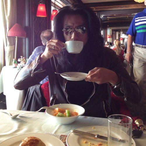 ヴェネツィアのホテル、ダニエリにて