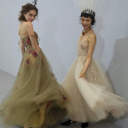 Diorの東京ショーに参加しました